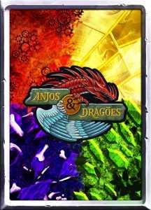 Anjos & Dragões - Verso da Carta