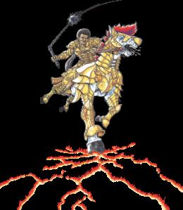 Luz - Cavalaria Dourada