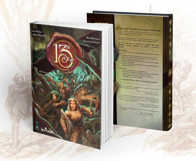 Financiamento coletivo: 13ª Era RPG / 13th Age (1/2)