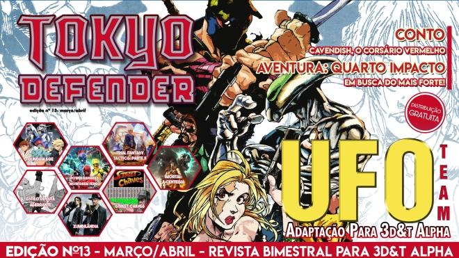 REVISTA TOKYO DEFENDER Nº13_capa
